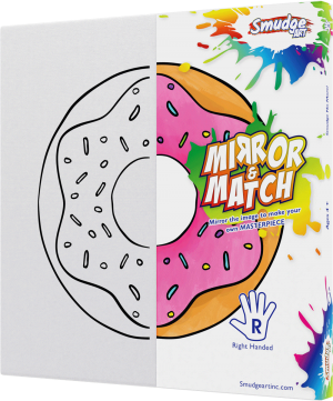mirror and match donut