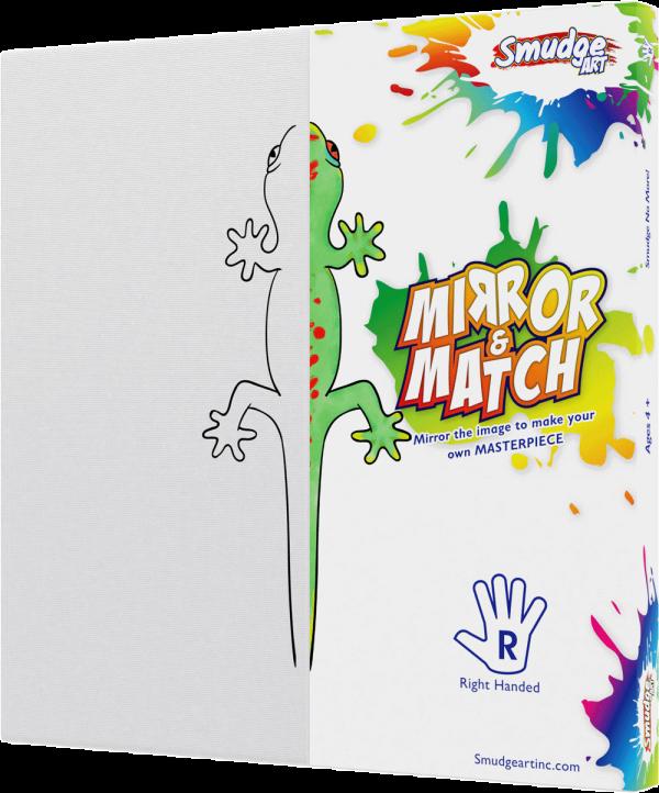 mirror and match lizard