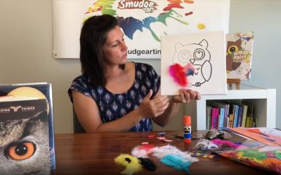 Smudge Art Teacher Tuesday Owls