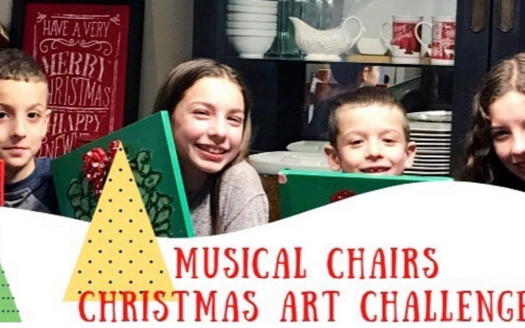 Bright Canvases and Christmas Musical Chairs